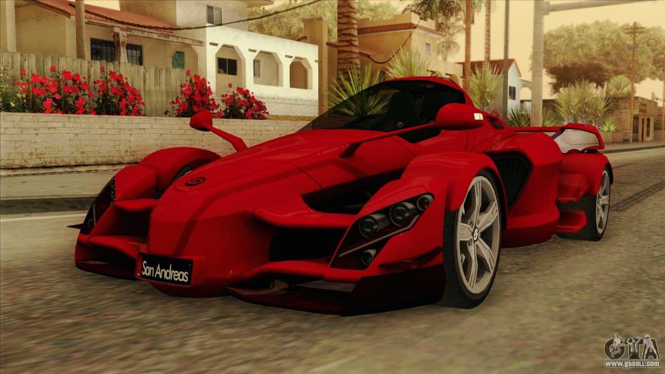 Awd Sports Cars >> Tramontana XTR for GTA San Andreas