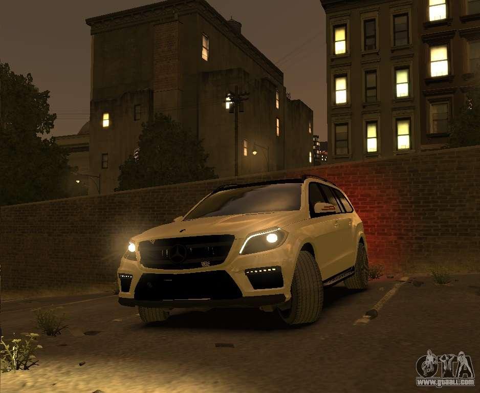 Mercedes Benz Gl500 2014 For Gta 4