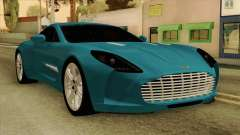 Aston Martin One 77 2010 for GTA San Andreas