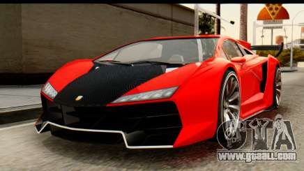 GTA 5 Pegassi Zentorno v2 IVF for GTA San Andreas