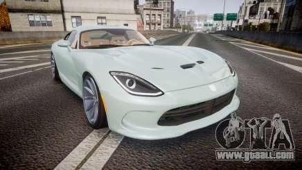 Dodge Viper SRT 2013 rims3 for GTA 4