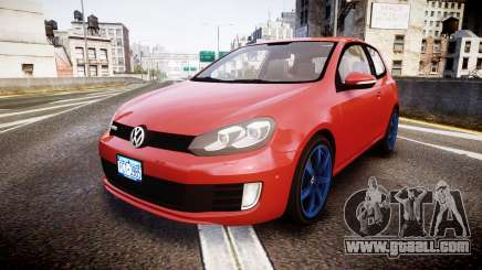 Volkswagen Golf Mk6 GTI rims3 for GTA 4