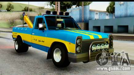 Nissan Junior 1982 Pickup Towtruck for GTA San Andreas