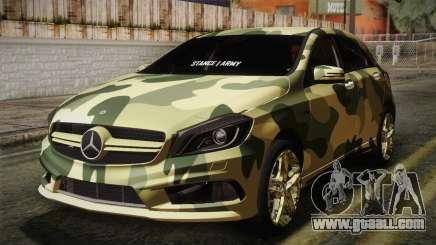 Mercedes-Benz A45 AMG Camo Edition for GTA San Andreas