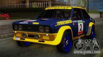 Fiat Abarth Sport Edition for GTA San Andreas