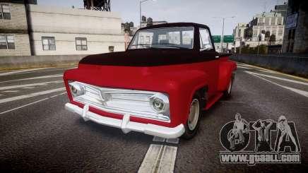GTA V Vapid Slamvan for GTA 4
