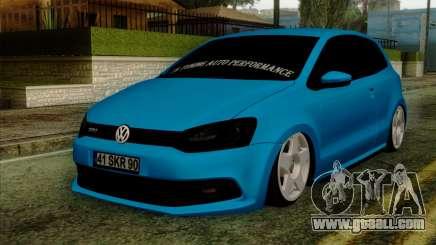 Volkswagen Polo GTI 2014 for GTA San Andreas