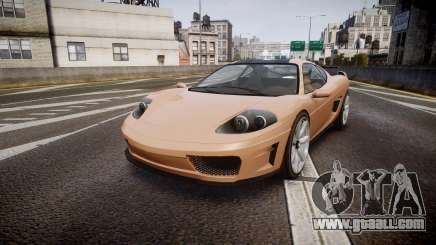 Grotti Turismo GT Carbon for GTA 4