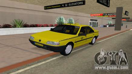 Peugeot 405 Roa Taxi for GTA San Andreas
