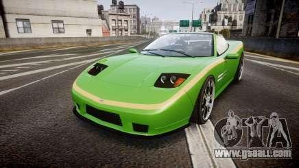 Invetero Coquette Roadster for GTA 4
