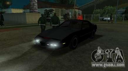 K.i.T.T. 2000 for GTA San Andreas