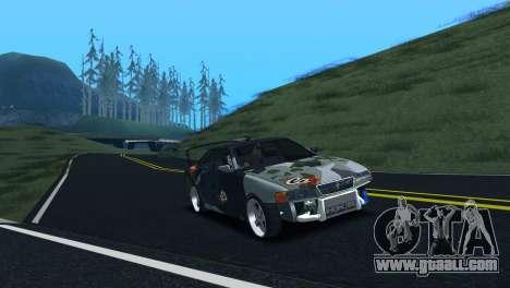 Toyota Chaser Tourer V Fail Crew for GTA San Andreas