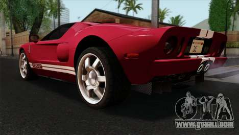 Ford GT FM3 Rims for GTA San Andreas left view
