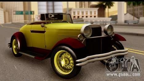 Ford A 1928 for GTA San Andreas