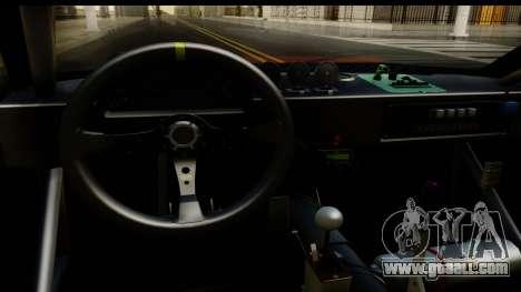 Drift Elegy Edition for GTA San Andreas inner view
