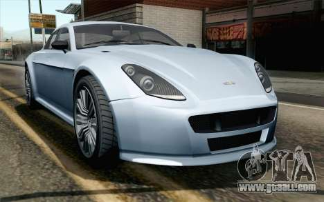 GTA 5 Dewbauchee Exemplar IVF for GTA San Andreas
