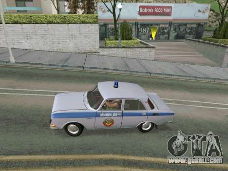 Moskvich 2140 Police for GTA San Andreas right view