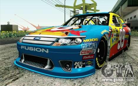 NASCAR Ford Fusion 2012 Short Track for GTA San Andreas