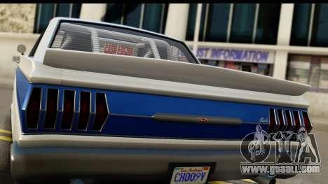 GTA 5 Vapid Blade v2 IVF for GTA San Andreas right view