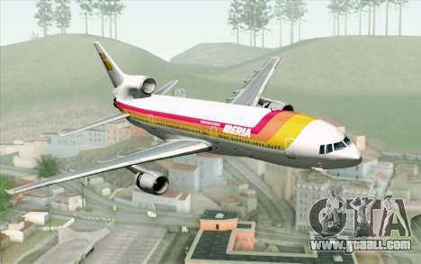 Lookheed L-1011 Iberia for GTA San Andreas