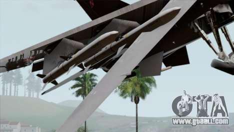 F-16C Block 52 PJ for GTA San Andreas right view