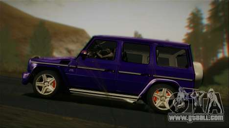 Mercedes-Benz G65 2013 Stock body for GTA San Andreas right view