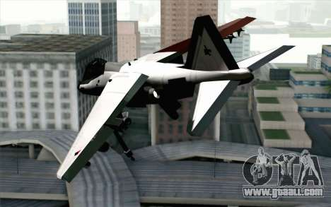 Hydra ADFX-02 Pixy for GTA San Andreas left view