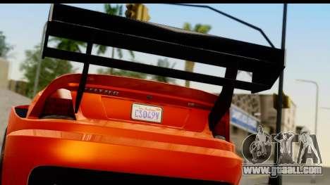 GTA 5 Benefactor Feltzer for GTA San Andreas right view
