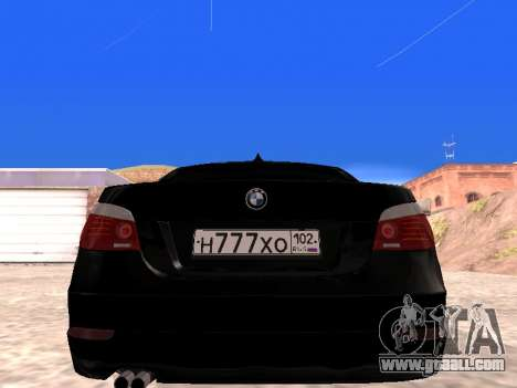 BMW 525i (e60) for GTA San Andreas right view