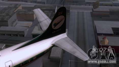 L-188 Electra Cathay P for GTA San Andreas back left view