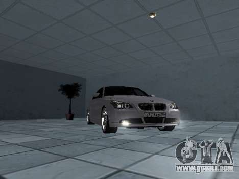 BMW 525i (e60) for GTA San Andreas back view