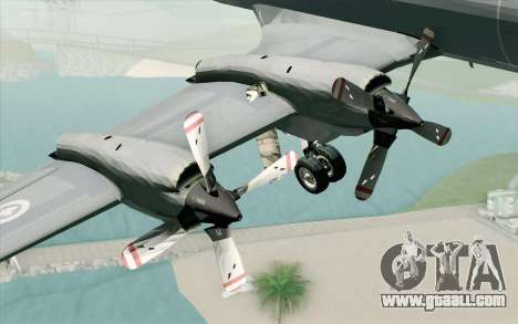 Lockheed P-3 Orion RCAF for GTA San Andreas right view