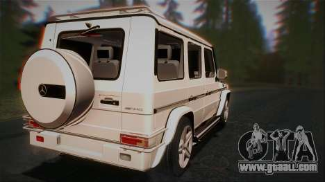 Mercedes-Benz G65 2013 AMG Body for GTA San Andreas right view