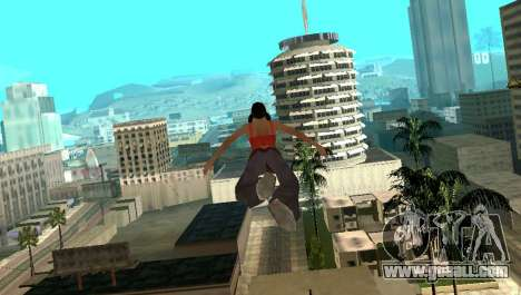 Cleo Fly for GTA San Andreas