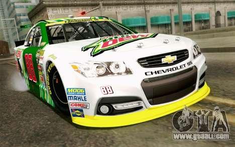 NASCAR Chevrolet SS 2013 v4 for GTA San Andreas