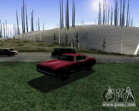 Medium ENBseries v1.0 for GTA San Andreas forth screenshot
