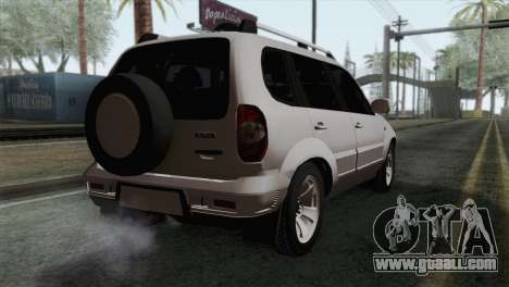 Chevrolet Niva for GTA San Andreas
