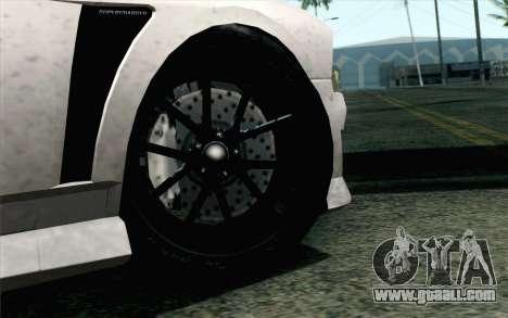 GTA 5 Bravado Buffalo S v2 IVF for GTA San Andreas back left view