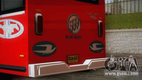 Dodge 300 Microbus for GTA San Andreas back view