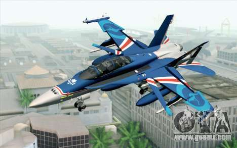 F-18D RAAF 20th Anniversary for GTA San Andreas