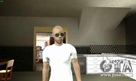 Vin Diesel for GTA San Andreas