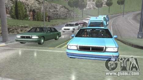 Road Reflections Fix 1.0 для GTA San Andreas for GTA San Andreas