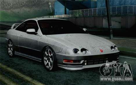 Acura Integra Type R 2001 Stock for GTA San Andreas