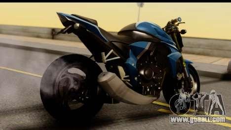 Honda CB1000R v2.0 for GTA San Andreas left view