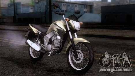 Honda CG Titan 150 2014 for GTA San Andreas