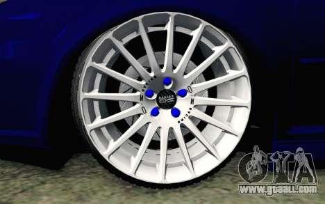 Volkswagen Golf Mk4 R32 Stance v2.0 for GTA San Andreas back left view