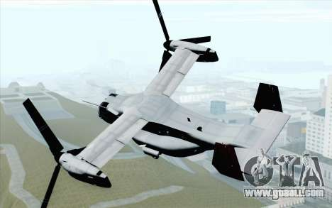 MV-22 Osprey VMM-265 Dragons for GTA San Andreas