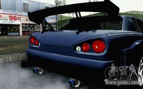 Elegy GP Sports G-SONIC EVO Kit for GTA San Andreas back view