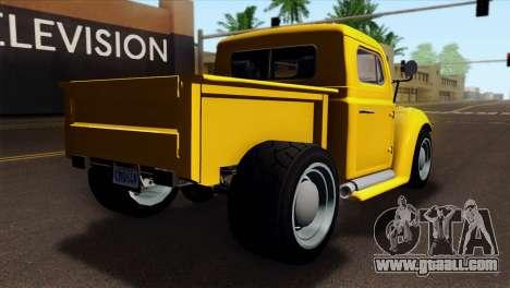 GTA 5 Bravado Rat-Truck for GTA San Andreas left view