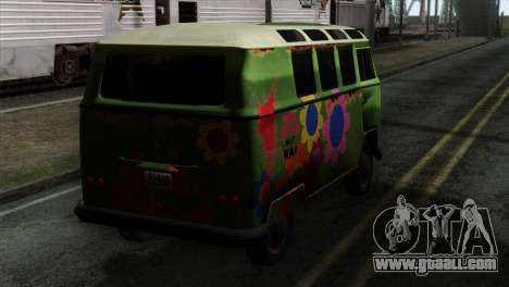 Volkswagen Microbus for GTA San Andreas left view